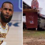 NBA – LeBarn James, le « cousin » paysan de LeBron qui enflamme la toile