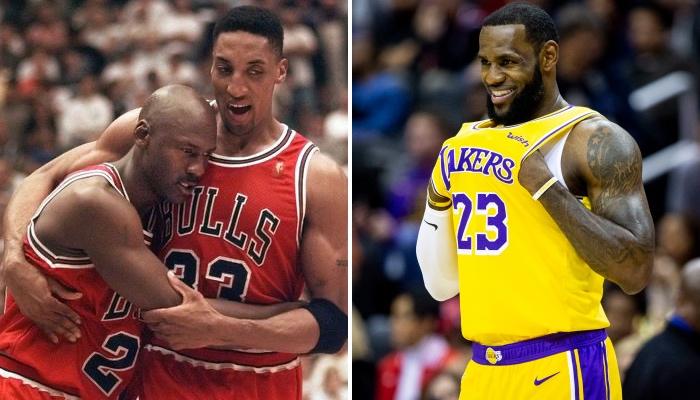 LeBron James a taillé Michael Jordan et Scottie Pippen au profit de Steph Curry et Kevin Durant