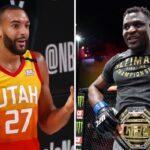 NBA – Rudy Gobert réagit à l'énorme KO de Ngannou au 2ème round !