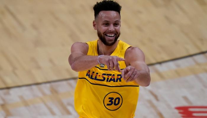 Stephen Curry était comme un enfant lors du All-Star Game NBA