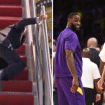 NBA – Joe Biden chute en public, les fans NBA sortent les memes