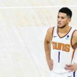 NBA – Devin Booker snobé pour le MVP ? Il réagit avec des mots forts