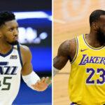 NBA – Donovan Mitchell répond sèchement à LeBron !