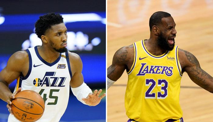 NBA - Donovan Mitchell répond sèchement à LeBron ! - Parlons Basket