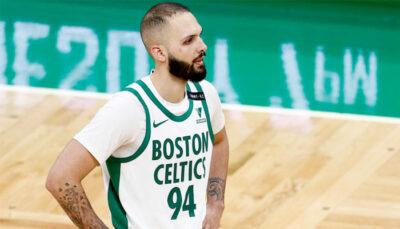 NBA – Grosse mauvaise nouvelle pour Evan Fournier et les Celtics