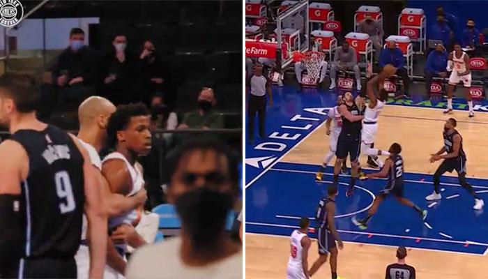 La grosse action de Frank Ntilikina sur Nikola Vucevic NBA