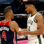 NBA – La très étrange scène entre Giannis et Westbrook en fin de match