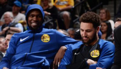 NBA – Klay Thompson euphorique, KD le trolle sauvagement