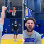 NBA – La séquence folle de Klay Thompson à l'entraînement