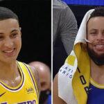 NBA – Kyle Kuzma se ridiculise, Steph Curry et le banc des Warriors se déchaînent !