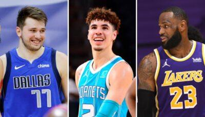 NBA – LaMelo Ball rejoint LeBron et Luka Doncic dans un club all-time ultra-sélect