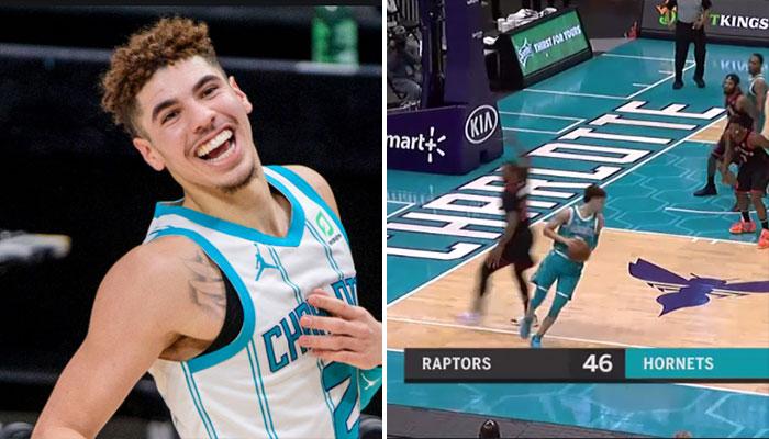 L'énorme move de LaMelo Ball qui enflamme la toile ! NBA