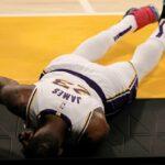 NBA – Les joueurs réagissent à la blessure de LeBron James