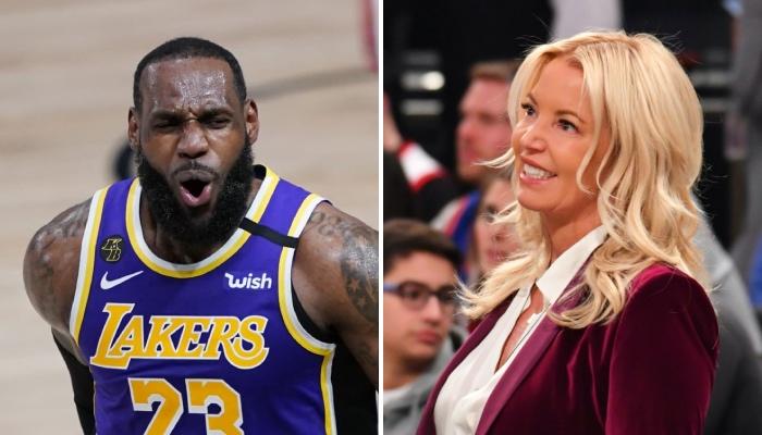La superstar NBA des Los Angeles Lakers, LeBron James, impressionnée devant l'effort financier que serait prête à réaliser la propriétaire de la franchise, Jeanie Buss, pour maintenir l'équipe au sommet
