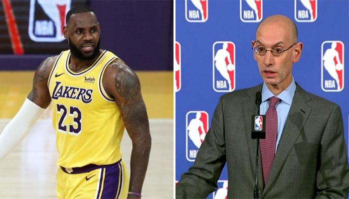 Adam Silver répond aux critiques de LeBron NBA