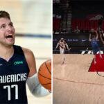 NBA – La passe totalement folle réussie par Luka Doncic !