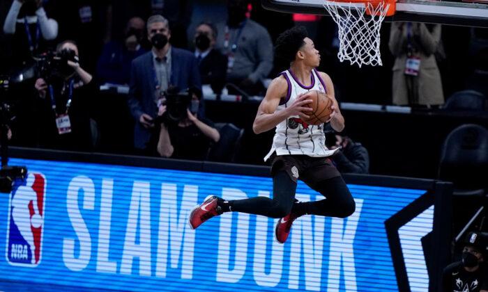 La star qui a joué un role inattendu dans le slam dunk contest