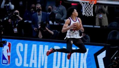 NBA – La star qui a joué un rôle inattendu dans le Slam Dunk Contest hier