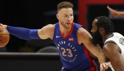 NBA – James Harden réagit à l'arrivée de Blake Griffin à Brooklyn