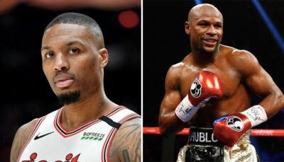 NBA – Damian Lillard tranche un épineux débat sur Floyd Mayweather