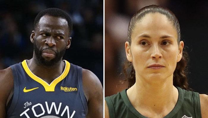 Sue Bird en WNBA répond à Draymond Green en NBA