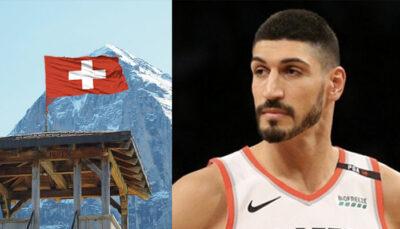 NBA – Enes Kanter s'emporte et déglingue… la Suisse !