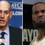 NBA – La ligue annonce un nouveau format choc pour les Finales, LeBron disjoncte !