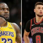 NBA – LeBron et KD réagissent à la Draft de… Zach LaVine