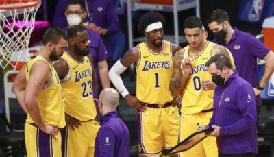 NBA – Le problème qui pourrait coûter très cher aux Lakers en playoffs