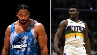 NBA – Myles Garrett, le méga colosse NFL qui fait passer Zion pour un gamin