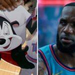 NBA – Pépé le Putois viré de Space Jam 2, sa scène avec LeBron jetée à la poubelle !