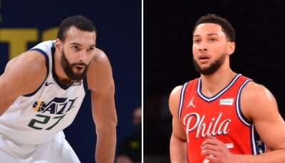 NBA – Ben Simmons en rajoute une couche sur Rudy Gobert !