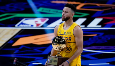 Steph Curry met le feu lors du concours à trois points, les joueurs réagissent ! NBA