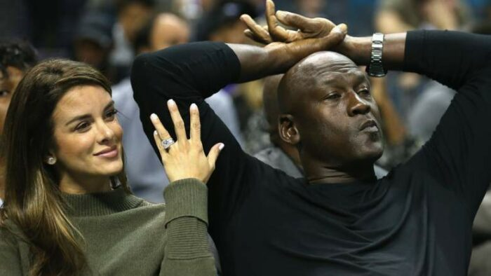 Yvette Prietto et Michael Jordan