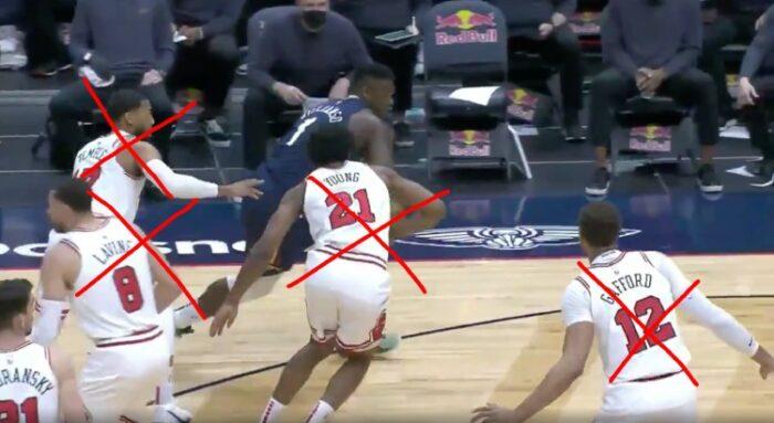 Zion Williamson mystifie les Bulls