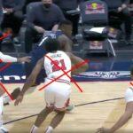 NBA – Zion remonte tout le terrain, bulldoze 4 Bulls et pose un poster de mammouth !