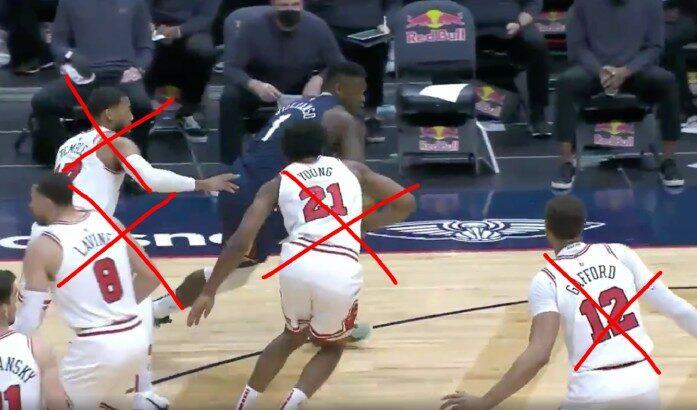 NBA - Zion remonte tout le terrain, bulldoze 4 Bulls et pose un poster de mammouth ! - Parlons Basket