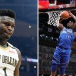 NBA – Zion se fait détruire après un vilain raté lors du ASG