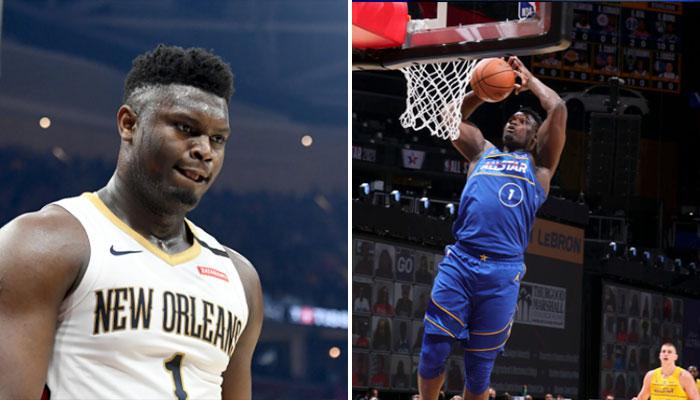 Zion se fait détruire après un vilain raté lors du ASG NBA
