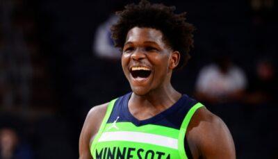 NBA – La nouvelle déclaration virale et hilarante d'Anthony Edwards