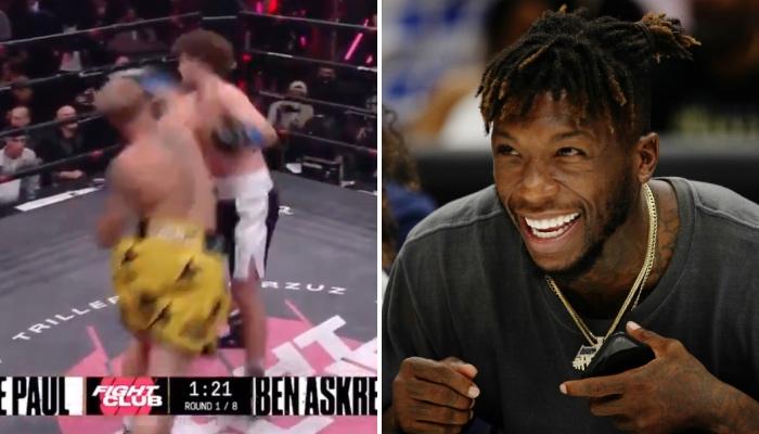 Nate Robinson veut sa revanche face à Jake Paul après son dernier combat de boxe