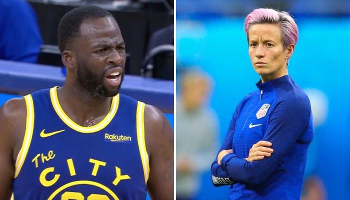 Draymond Green s'est fait détruire par Megan Rapinoe après ses propos sur la WNBA
