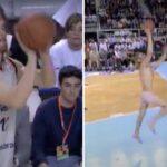 NBA/Divers – Il commence son dunk habillé… et le finit en caleçon