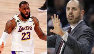 NBA – Frank Vogel douche les espoirs des fans concernant LeBron