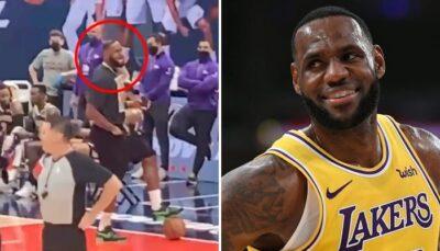 NBA – Insulté par un fan à Washington, la réponse WTF de LeBron