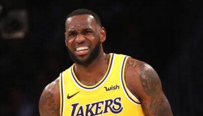 NBA – LeBron James fait un teasing WTF