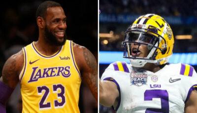 NBA – « LeBron, AD, appelez-moi » : un joueur NFL affiche un énorme niveau