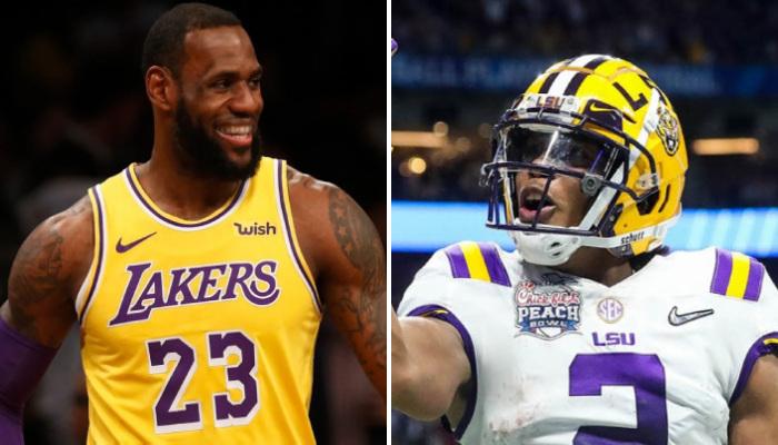 NBA Justin Jefferson (NFL) a lancé un appel à LeBron et Anthony Davis