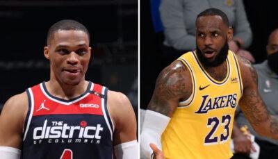 NBA – LeBron poste une photo de Westbrook et lui… et se chauffe tout seul