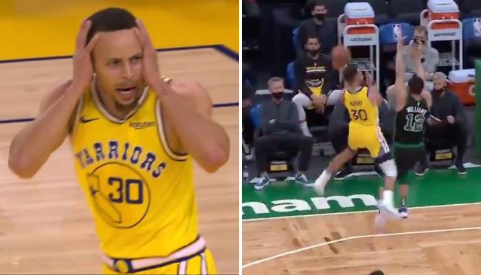 Stephen Curry a encore une fois impressionné avec un tir à 3 points incroyable pour les Warriors